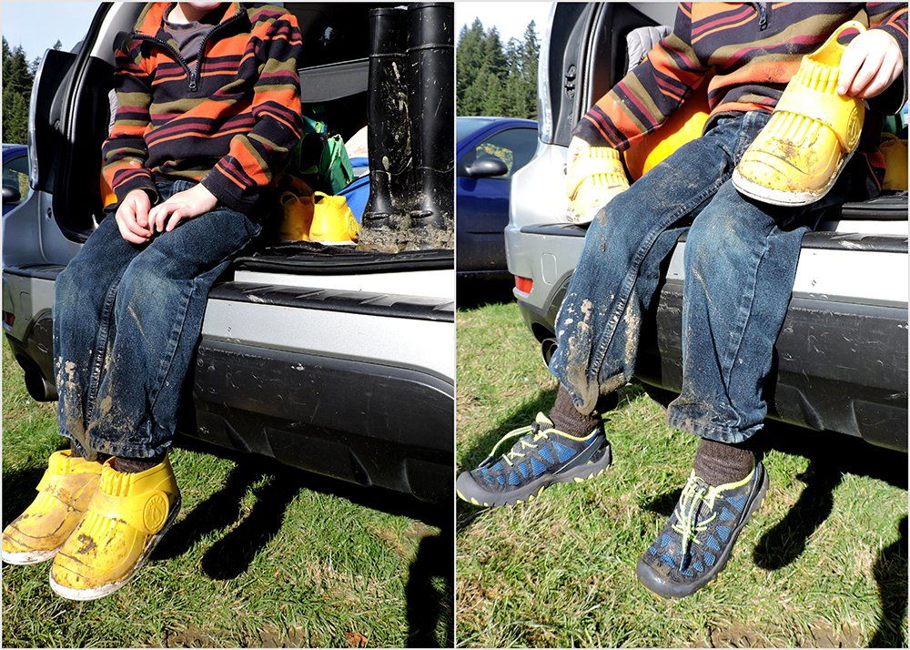 Butler Rockhopper Overboots for kids