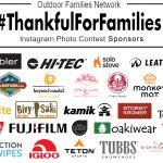 November 7th – 13th: 3rd Annual #ThankfulForFamilies Instagram Photo Contest