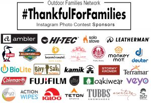 November 7th - 13th: 3rd Annual #ThankfulForFamilies Instagram Photo Contest