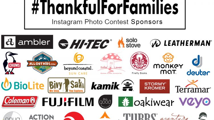 November 7th – 13th: 3rd Annual #ThankfulForFamilies Instagram Photo Contest