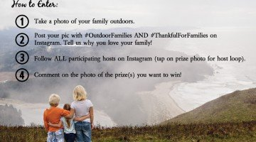 Show Us What You're Thankful For and You Could Win BIG!