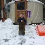 Cabins are a Family Camping Win During a Long, Cold Winter