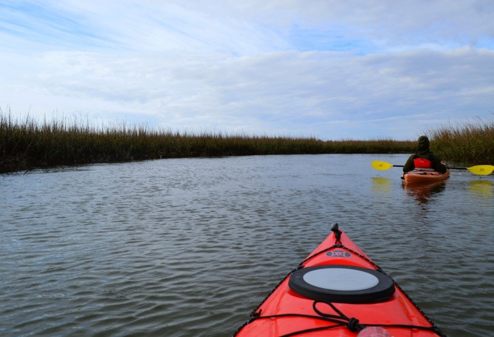 Kayaking Georgia's Tybee Island Region - Outdoor Families Magazine