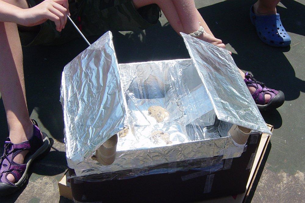 Outdoor STEM Activities solar oven