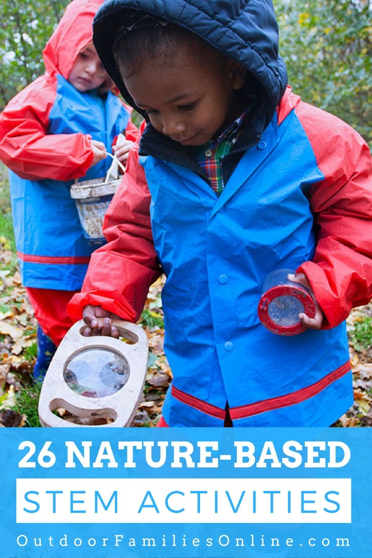 outdoor STEM activities animal next discovery