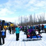 All Aboard the Alaska Ski Train