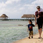Exploring Belize and Guatemala with three generations