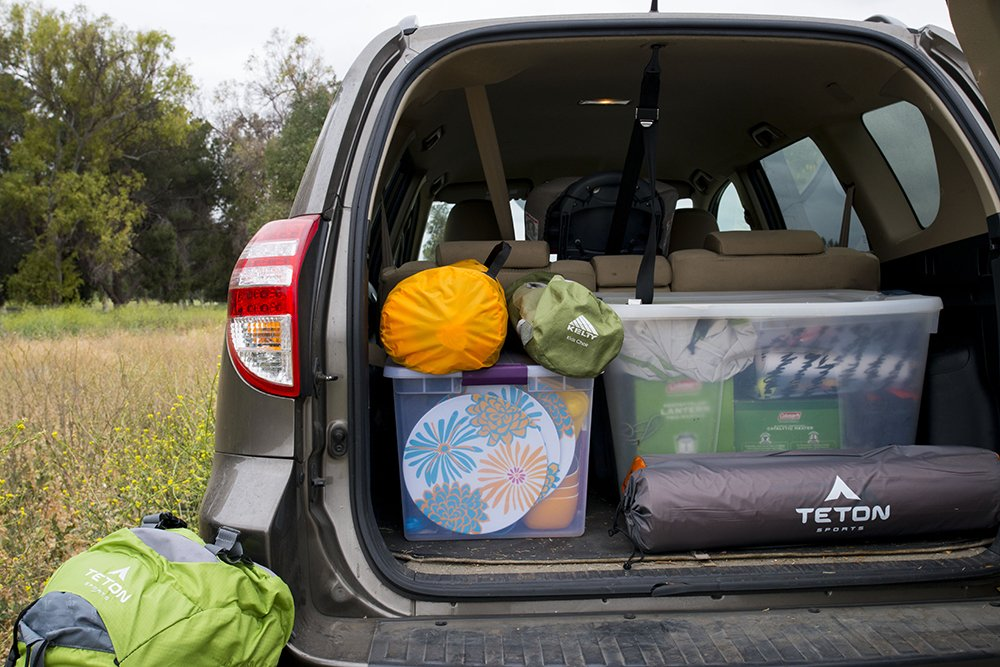 Camping 101 Utilize Storage Bins For Car Success