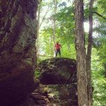 """Earthcaching"" Indiana's Hemlock Cliffs"