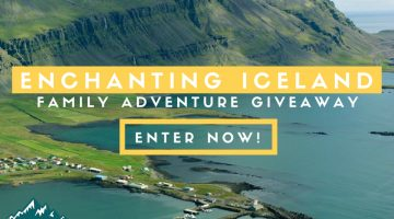 Enchanting Iceland: A Land & Sea Family Adventure Vacation Giveaway