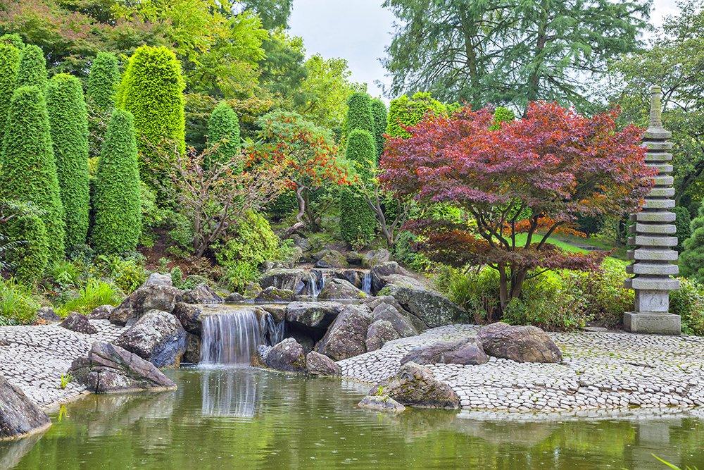 Japanese Botanical Garden Design Ideas