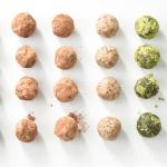 No-Bake Triple Chocolate Energy Balls