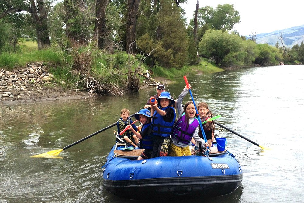 river rafting with kids guide
