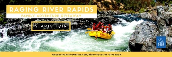 family river rafting adventure trip giveaway