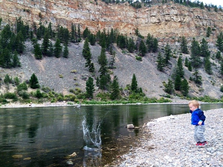 """Rocks in the Water"" and Other Life Lessons - Outdoor Families Magazine"