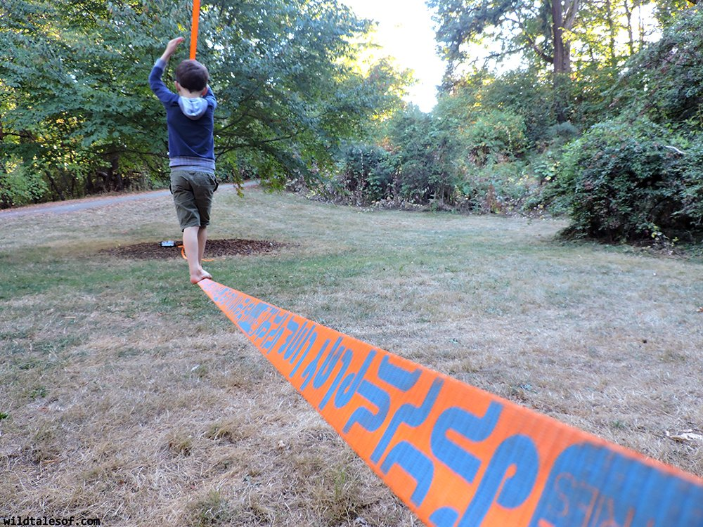 slackline for kids outdoor gear review